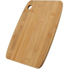 Доска разделочная Bergner Wooden 30.5x22.5см, влагостойкий бамбук