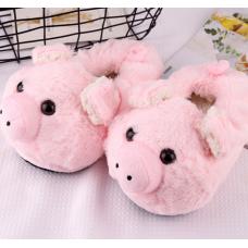 Детские тапочки игрушки Свинки 23-25.стельки 16 см