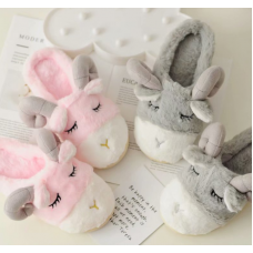Детские домашние тапочки игрушки Барашки