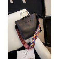 f15cac5ec4d8 Черная городская сумка Китай Сумки кожаные Галантерея купить ...