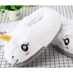 Тапочки-кигуруми белые Единороги