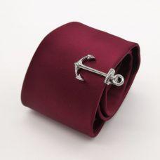 Зажим для галстука Якорь