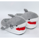 Тапочки-игрушки серые Акулы, 36-41