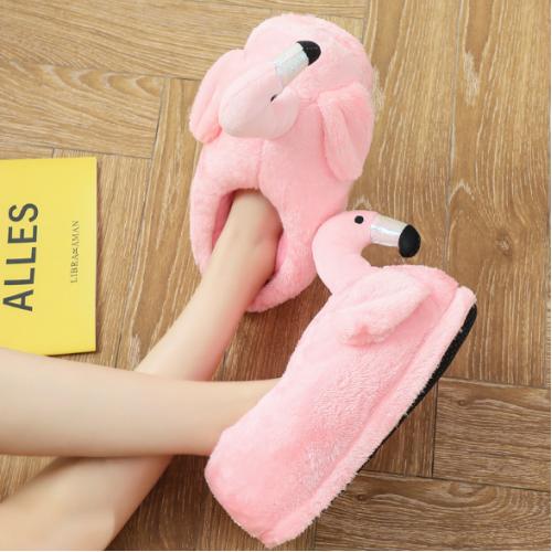 cbcd6da62afa Тапочки-игрушки Фламинго закрытые Китай Тапочки Обувь женская купить ...