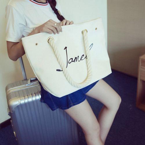 e299cd173192 Белая женская тканевая пляжная сумка Китай Сумки кожаные Галантерея ...