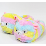Тапочки-кигуруми разноцветные Альпаки