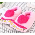 """Розовые тапочки игрушки """"Ноги первобытного человека"""""""