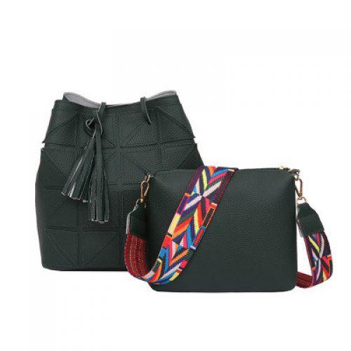 fe1a638c71d5 Зеленая вместительная женская сумка Китай Сумки кожаные Галантерея ...