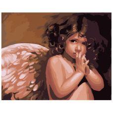 Картина по номерам «Ангелочек»
