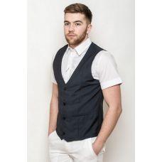 Обманка жилет-рубашка 3114