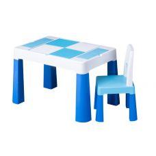 910 Комплект детской мебели Tega Baby MULTIFUN (стол + стульчик) (синий(Blue))