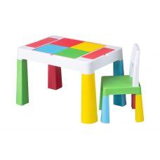 910 Комплект детской мебели Tega Baby MULTIFUN (стол + стульчик) (мультицвет(Мulticolor))