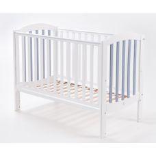 Ліжко Верес ЛД10 Соня матник/без ш біло/сірий
