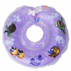 Круг для купання дітей Дельфін фіолетовий