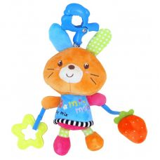 P/1121-EU00 Плюшевий оранжевий кролик