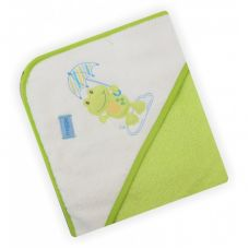 Полотенце з капішоном Z-CY-16/Green Жабка