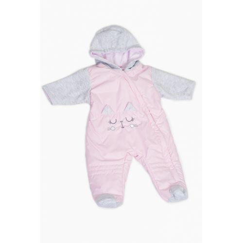 Комбінезон Esto Kotek R62 pink демісезон ESTO Комбинезоны Одежда ... f793341ff6d