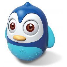 HS-0201 BLUE Ванька-встанька пластик Пінгвін голубий