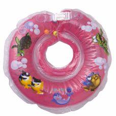 Круг для купання дітей Дельфін рожевий