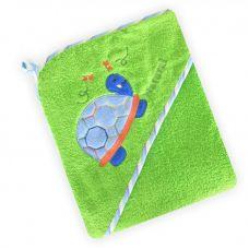 Полотенце з капішоном Z-CY-25/Green Черепаха