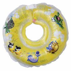 Круг для купання дітей Дельфін жовтий