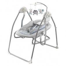 Гойдалка+лежак Baby Mix BY020 grey