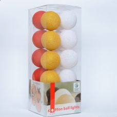 Гірлянда Cottonballlights 20 кульок Christmas