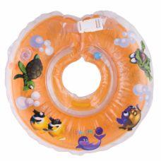 Круг для купання дітей Дельфін помаранч