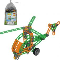 Конструктор Изобретатель - Вертолет №1 130 эл /в пакете/ 55026