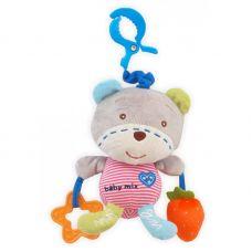 P/1129-DA00 Ведмедик з серцем з кліпсоою