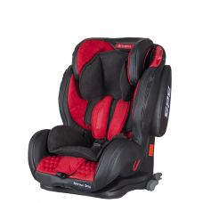 Автокрісло COLETTO Sportivo ONLY ISOFIX 9-36 red