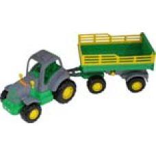 44563 Трактор Крепыш с прицепом №2