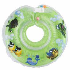 Круг для купання дітей Дельфін салатовий