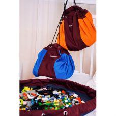 Сумка коврик для Lego, диаметр 60см. SteepBag (Оранжевый)