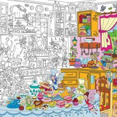 Плакат-раскраска Кухонные Феи XL (тубус)