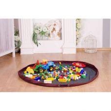 Сумка коврик для Лего SteepBag (Серый). Диаметр 1 метр